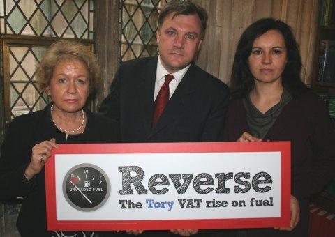 Reverse VAT on fuel