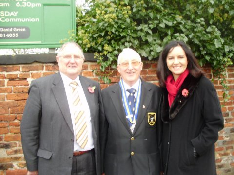 CF Eddie and Lawrence British Legion