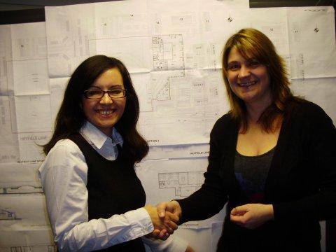 Hay Centre CF & AR handshake