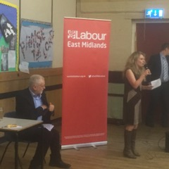 CLP Vice chair Emma Ward Introducing Jeremy