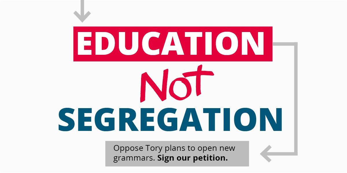 Education Not Segregation