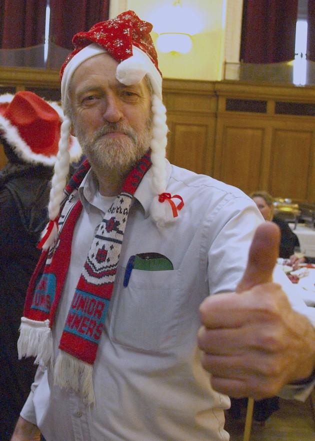 Jeremy Corbyn Christmas