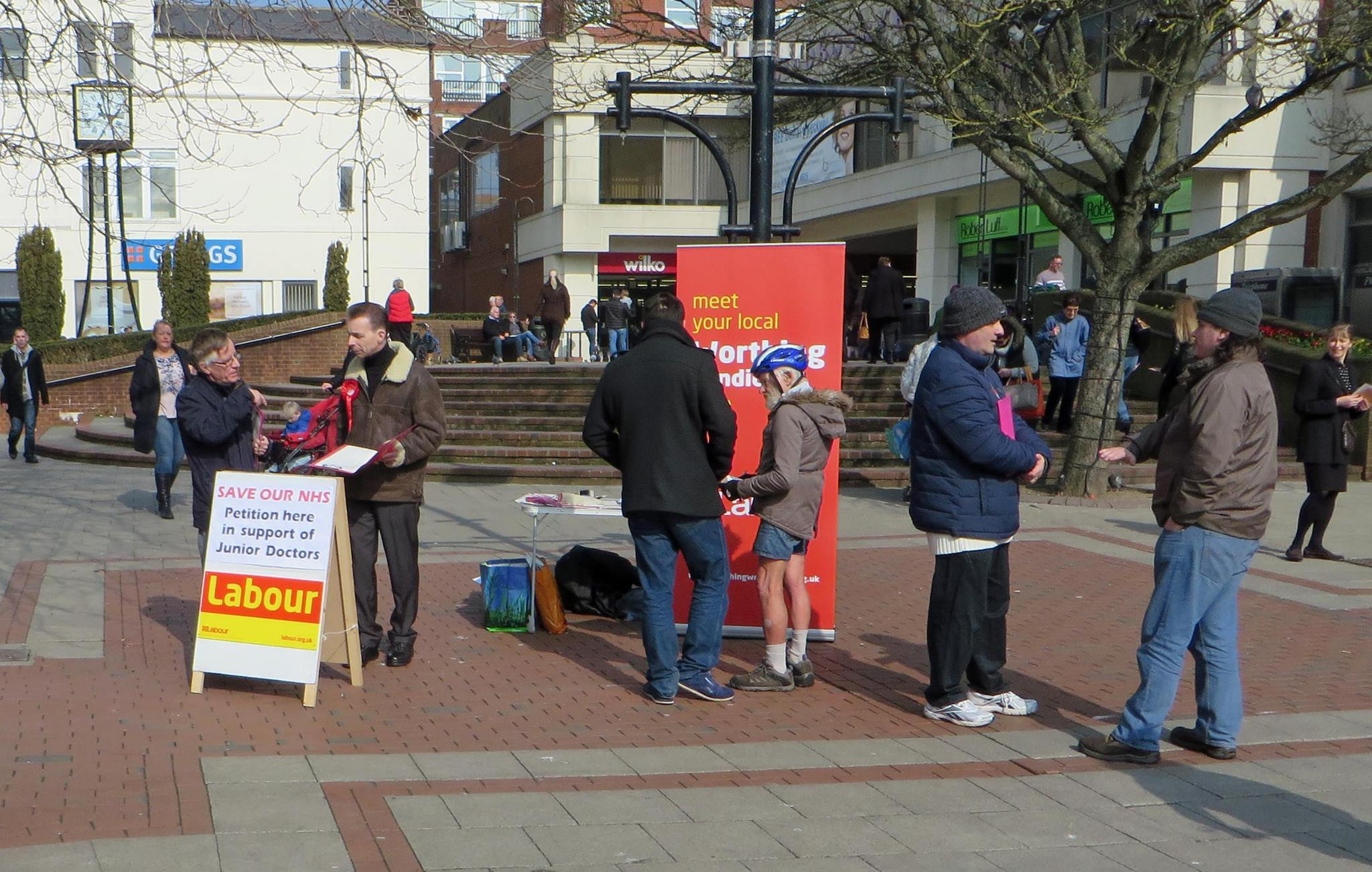Worthing Town Centre Street Stall