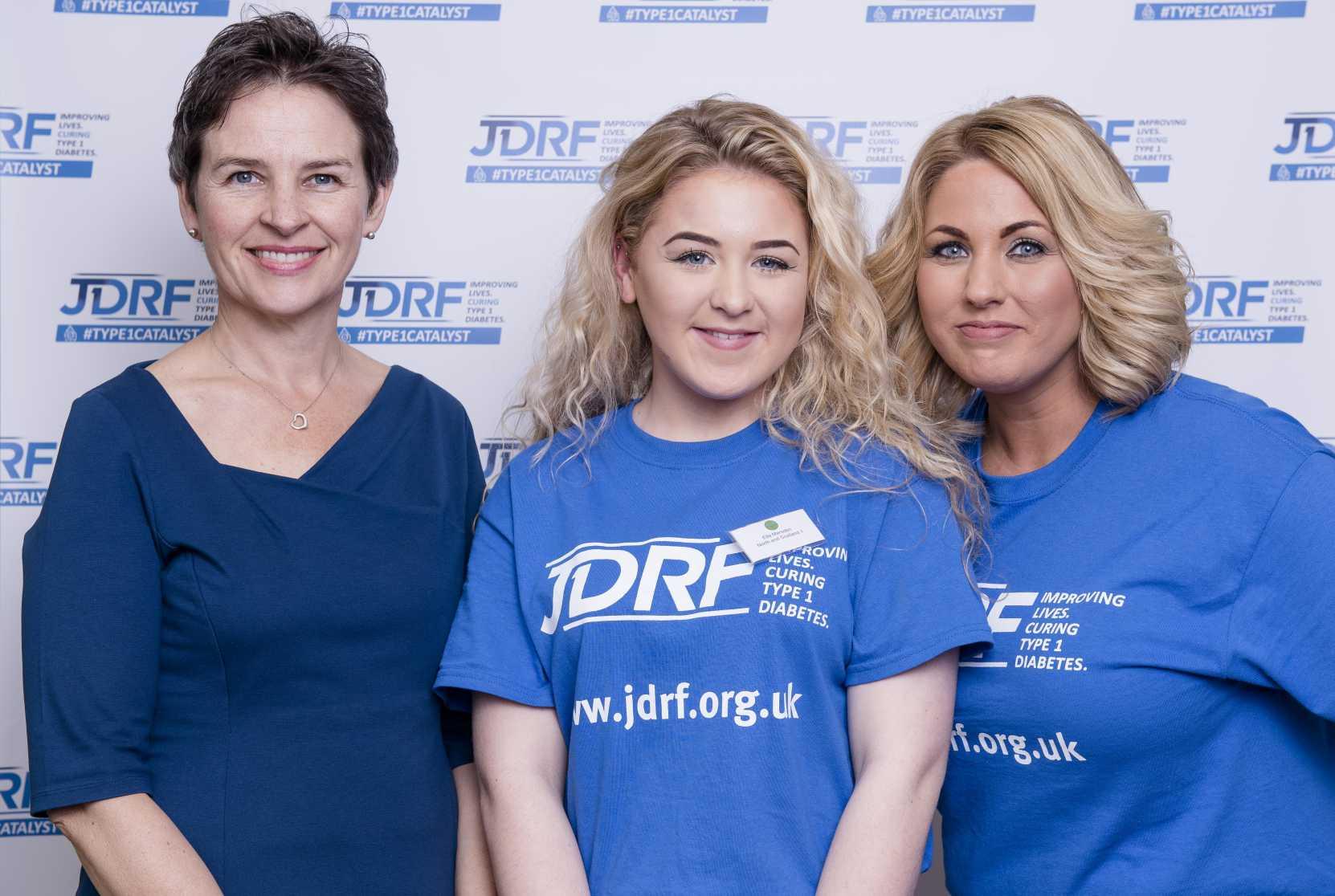 Mary, Ella and Debbie