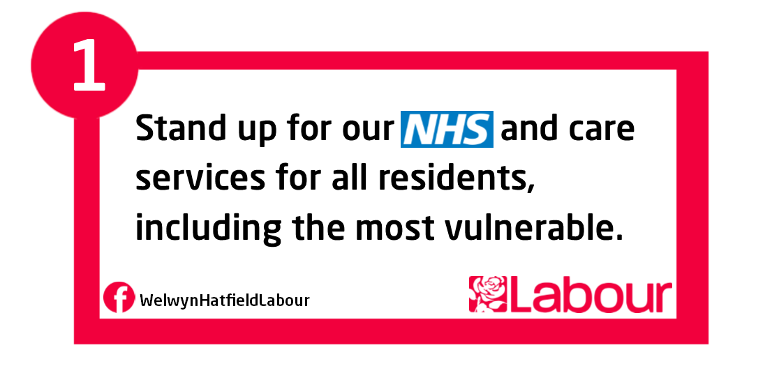 Pledge 1 - Labour will defend the NHS
