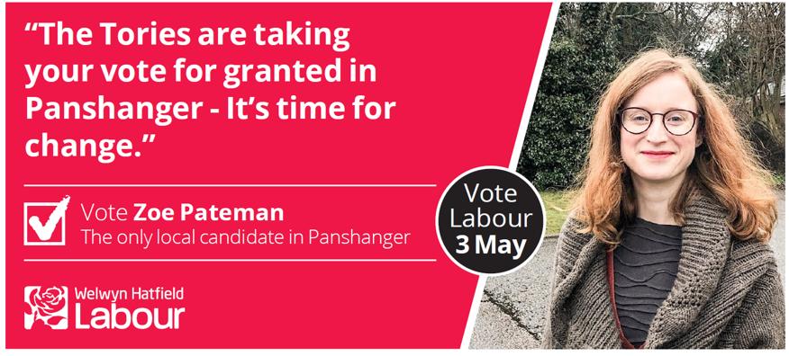 Zoe Pateman for Panshanger