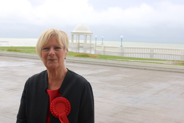 Labour candidate Christine Bayliss
