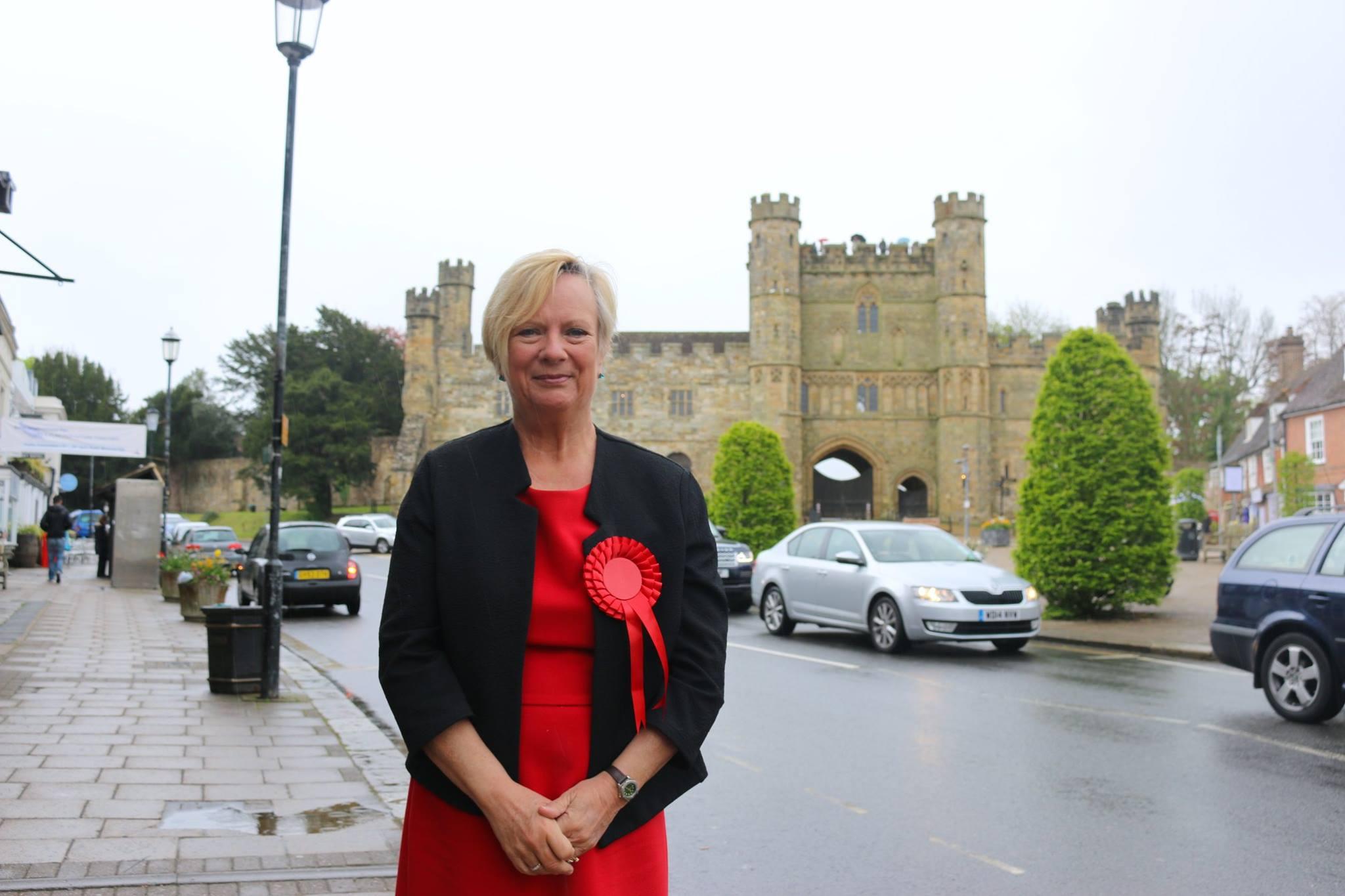 Labour candidate Christine Bayliss