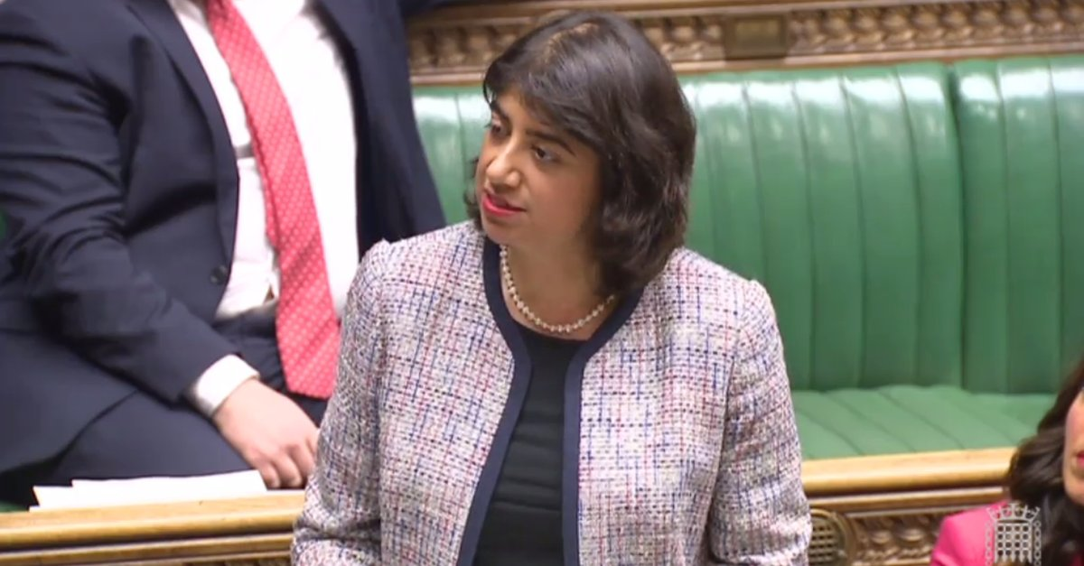 Seema Malhotra MP Speaking in Parliament