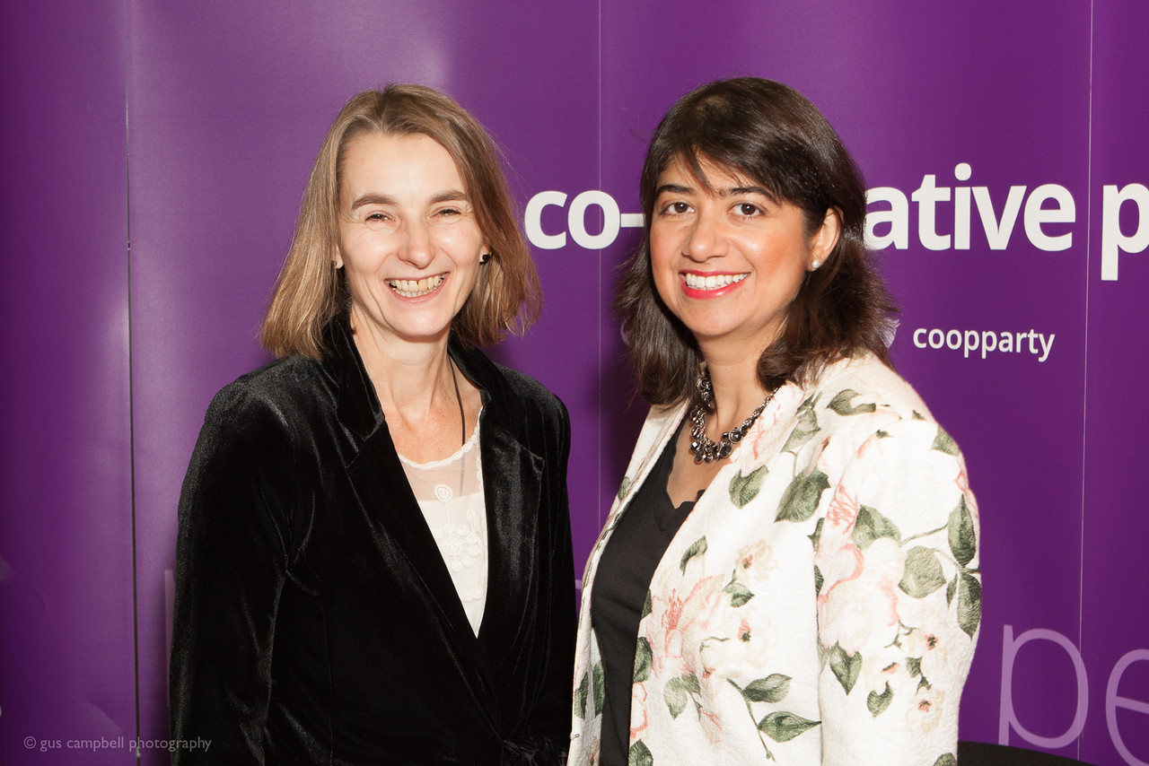 Seema Malhotra MP at another recent Co-operative Party Event