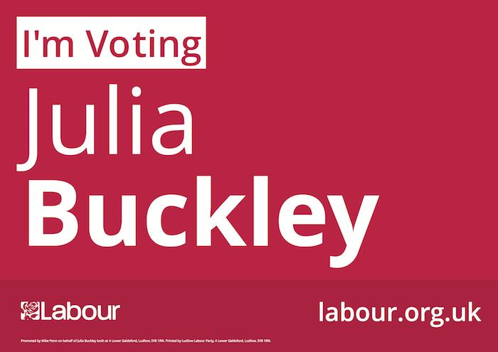 Vote Julia Buckley