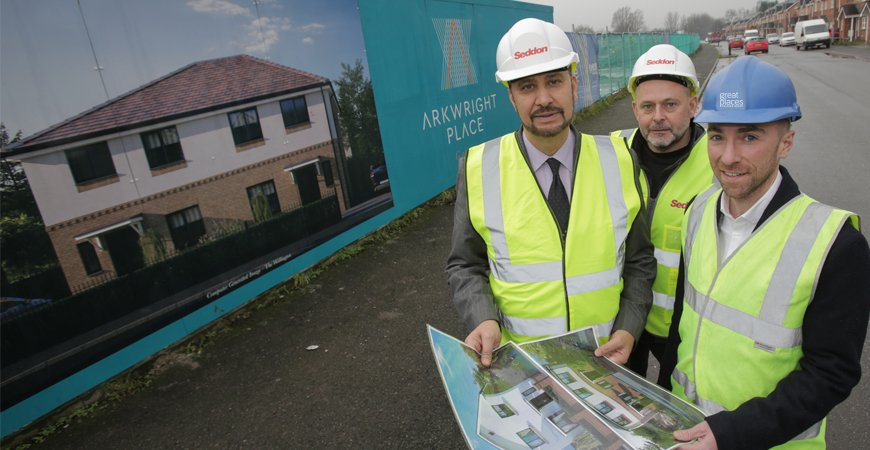 Building Affordable Homes in Gorton