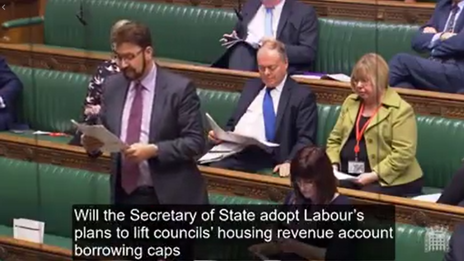 Afzal Questions Government on Housing