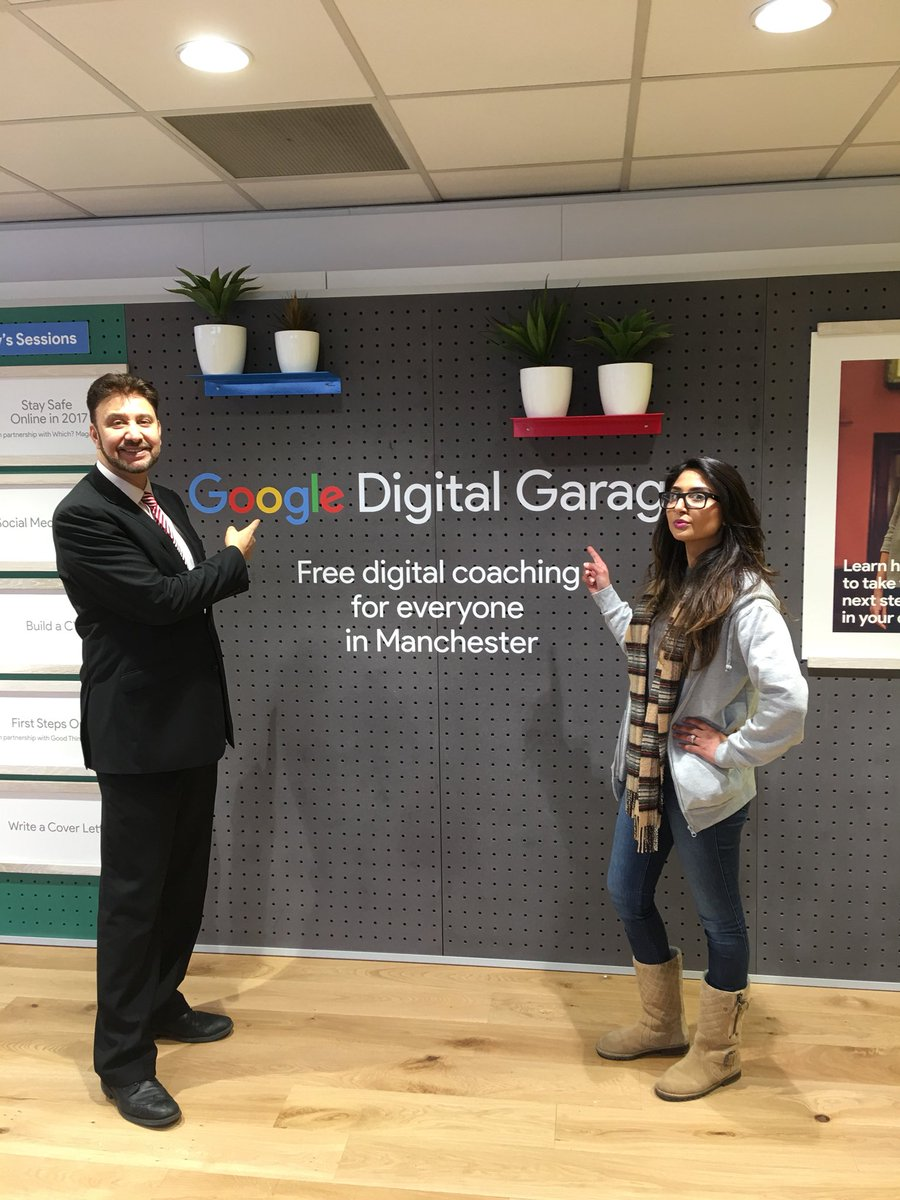 Google Digital Garage Visit