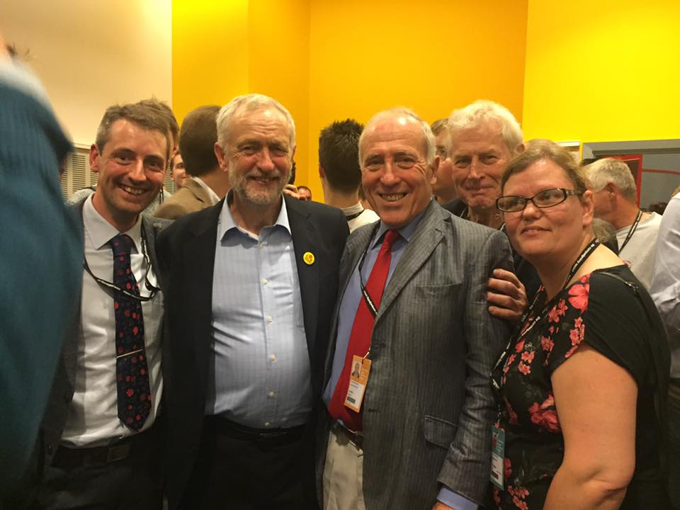 The Salisbury team catch up with Jeremy Corbyn