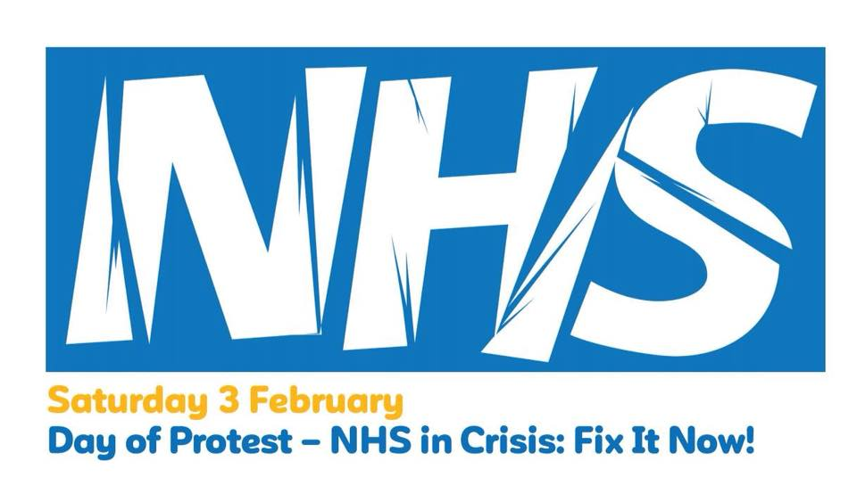 NHS day of action banner