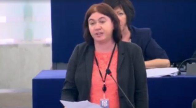 European Parliament Speech