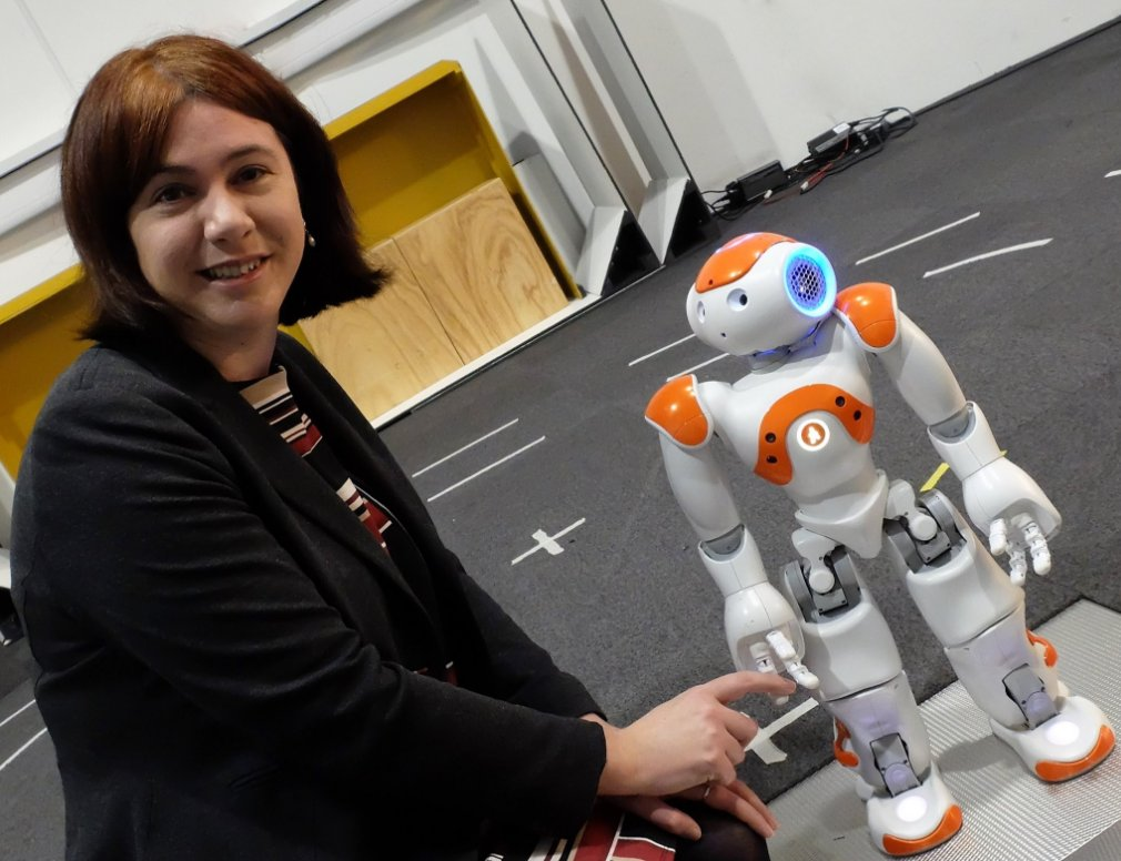 Robot at the University of Essex