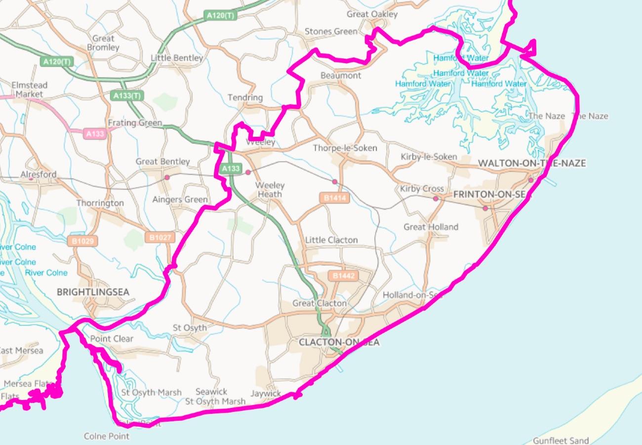 Clacton Constituency