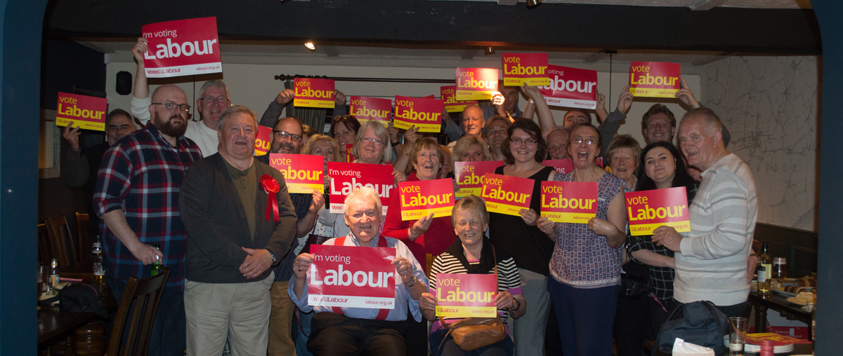 Clacton Labour Party at a recent Social event