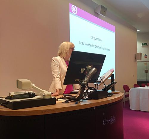 Zoe Nolan meeting the mental health challenge
