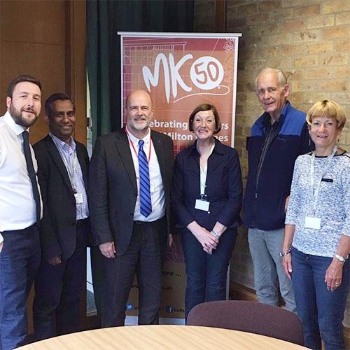 John Howarth meets MK Labour councillors