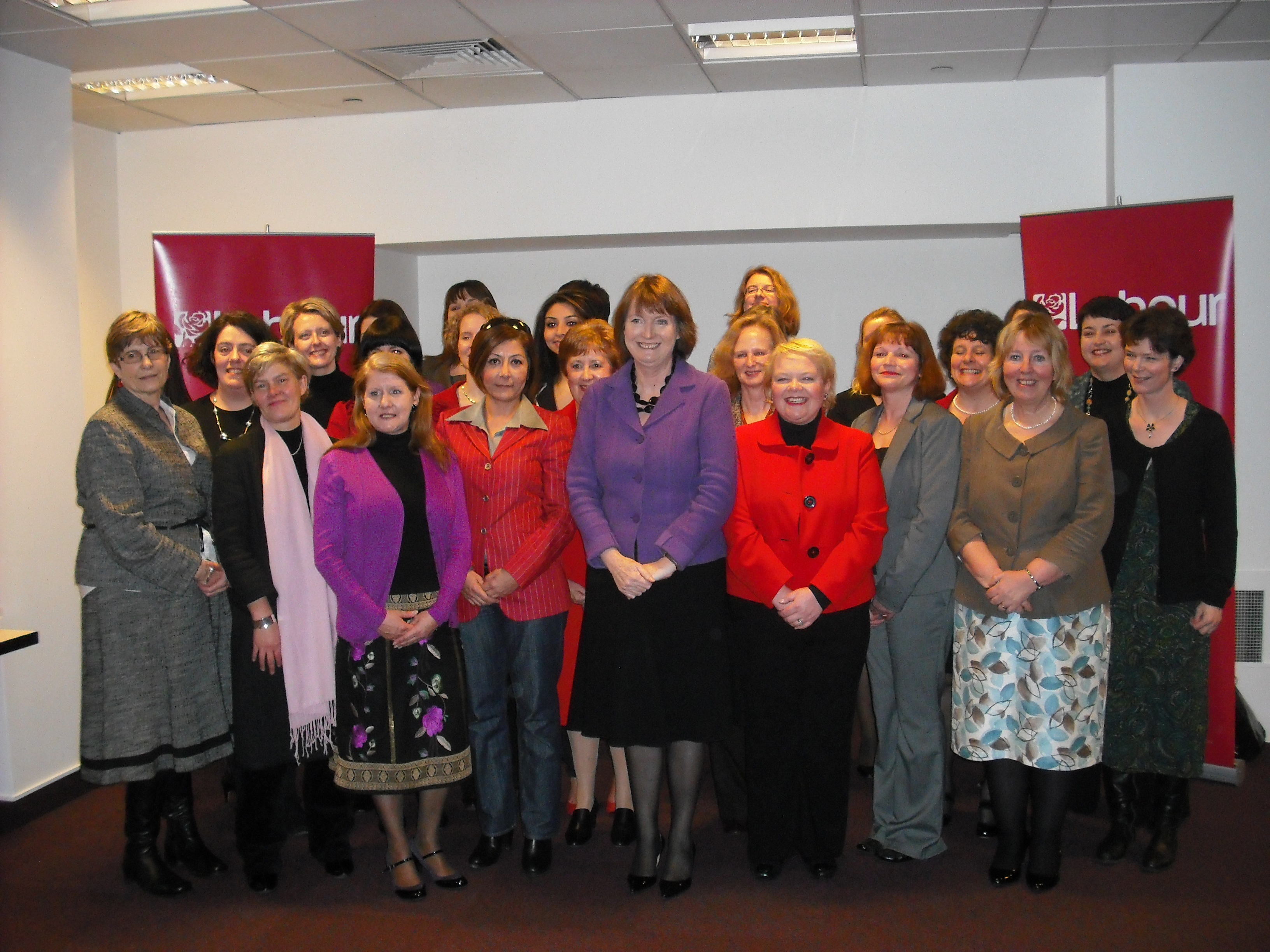 Harriet meeting prospective parliamentary candidates
