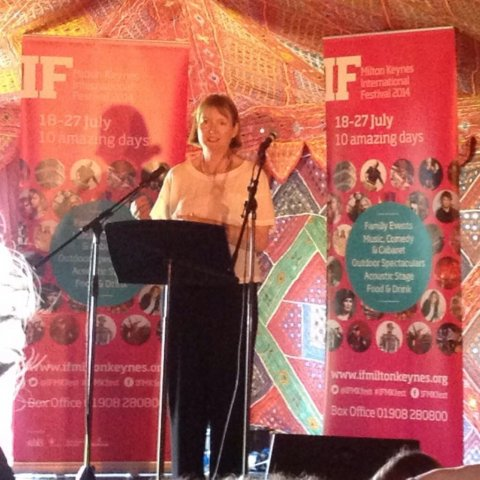 Speaking at IF Festival