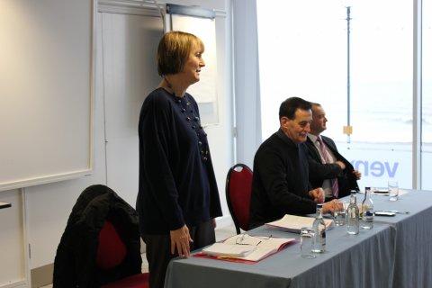Welsh Councillors in Llandudno 2 - 220313