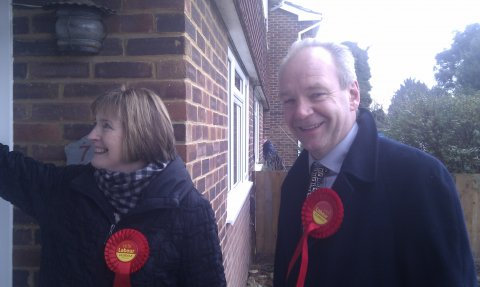 230213 Eastleigh door-knocking