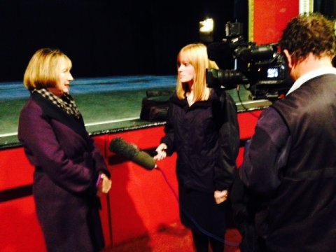 News Interview Clacton
