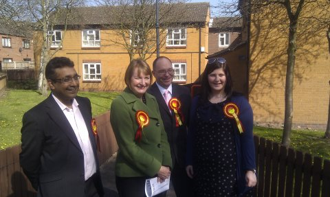 Derby campaigning 280312