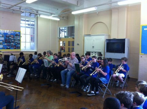 Southwark Childrens Brass Band
