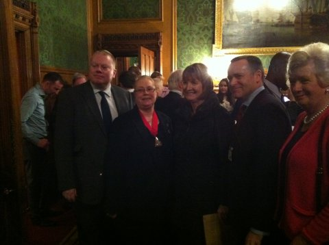 Lord Kennedy, Cllr Lorraine Lauder event