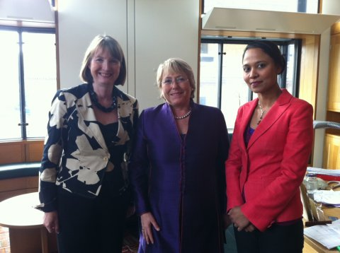 20110517 meeting with michelle bachelet