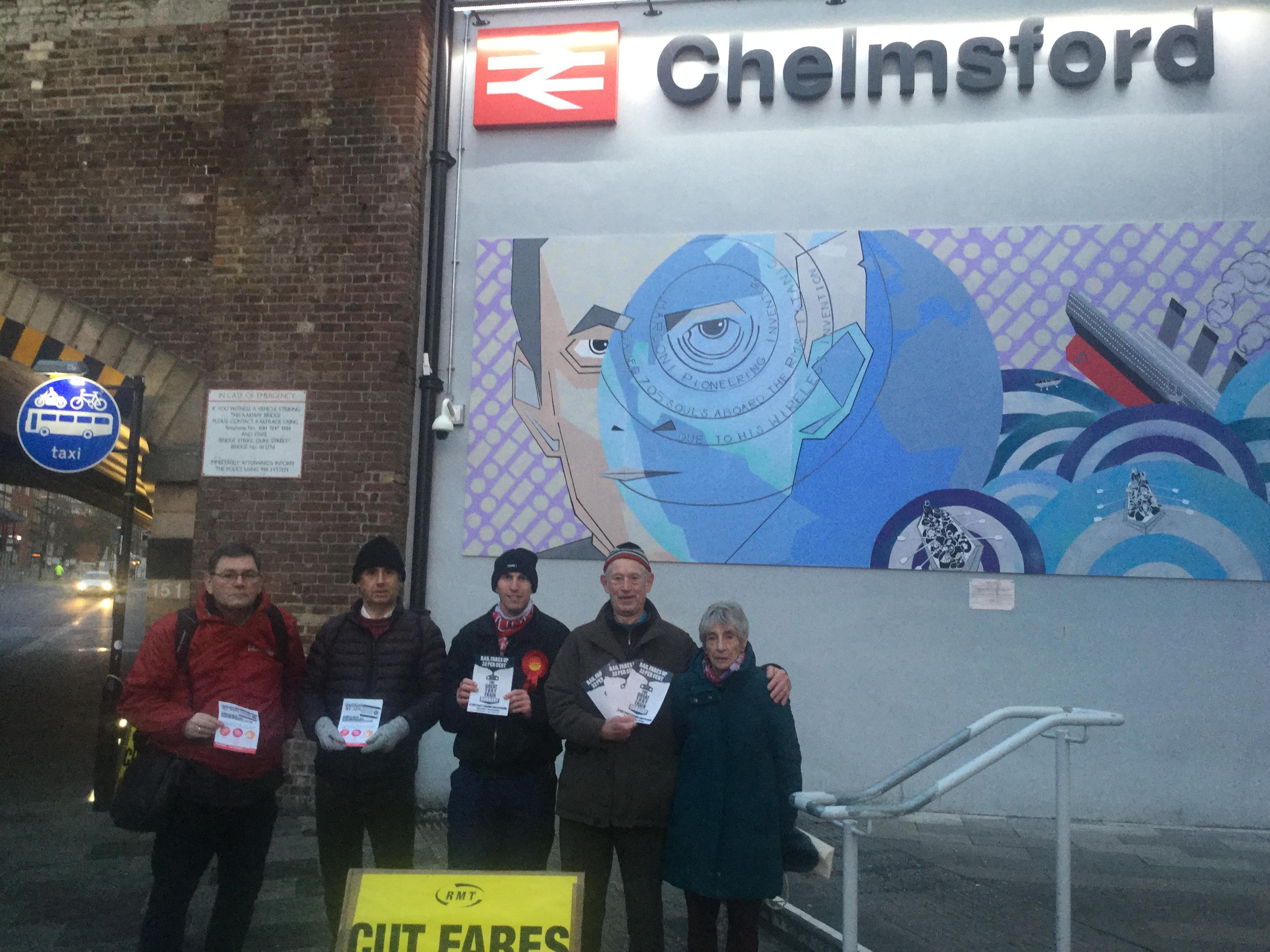 Chelmsford Rail Fail 2018