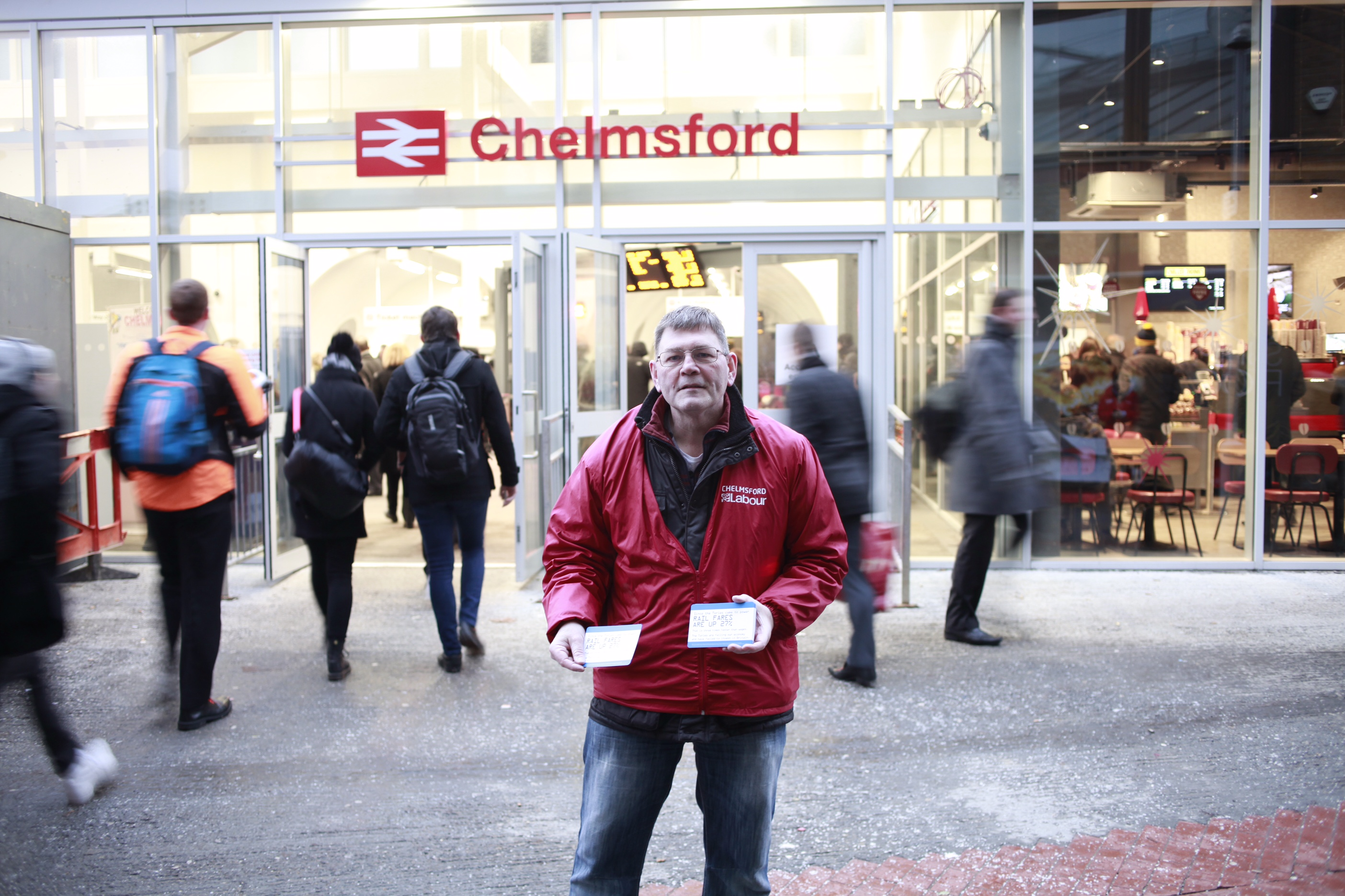 Chelmsford_Rail_Fail_Richard_giving_out_leaflet.JPG