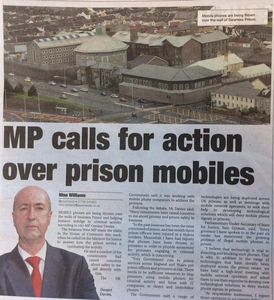 Tory Prison Cuts article