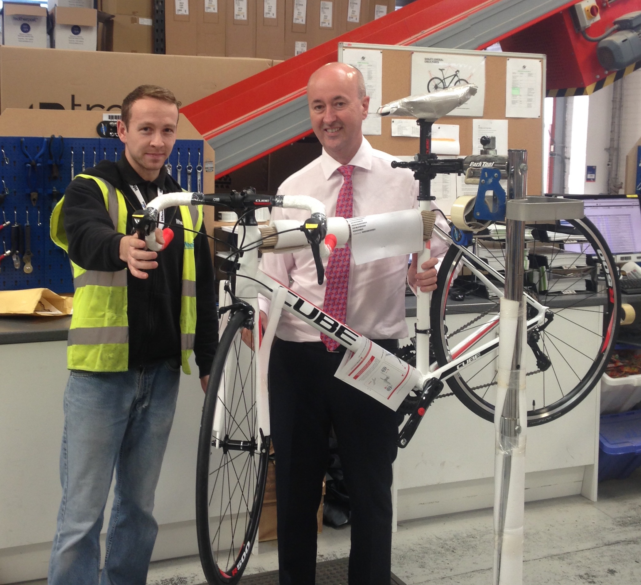 Geraint Davies at Cycle Solutions
