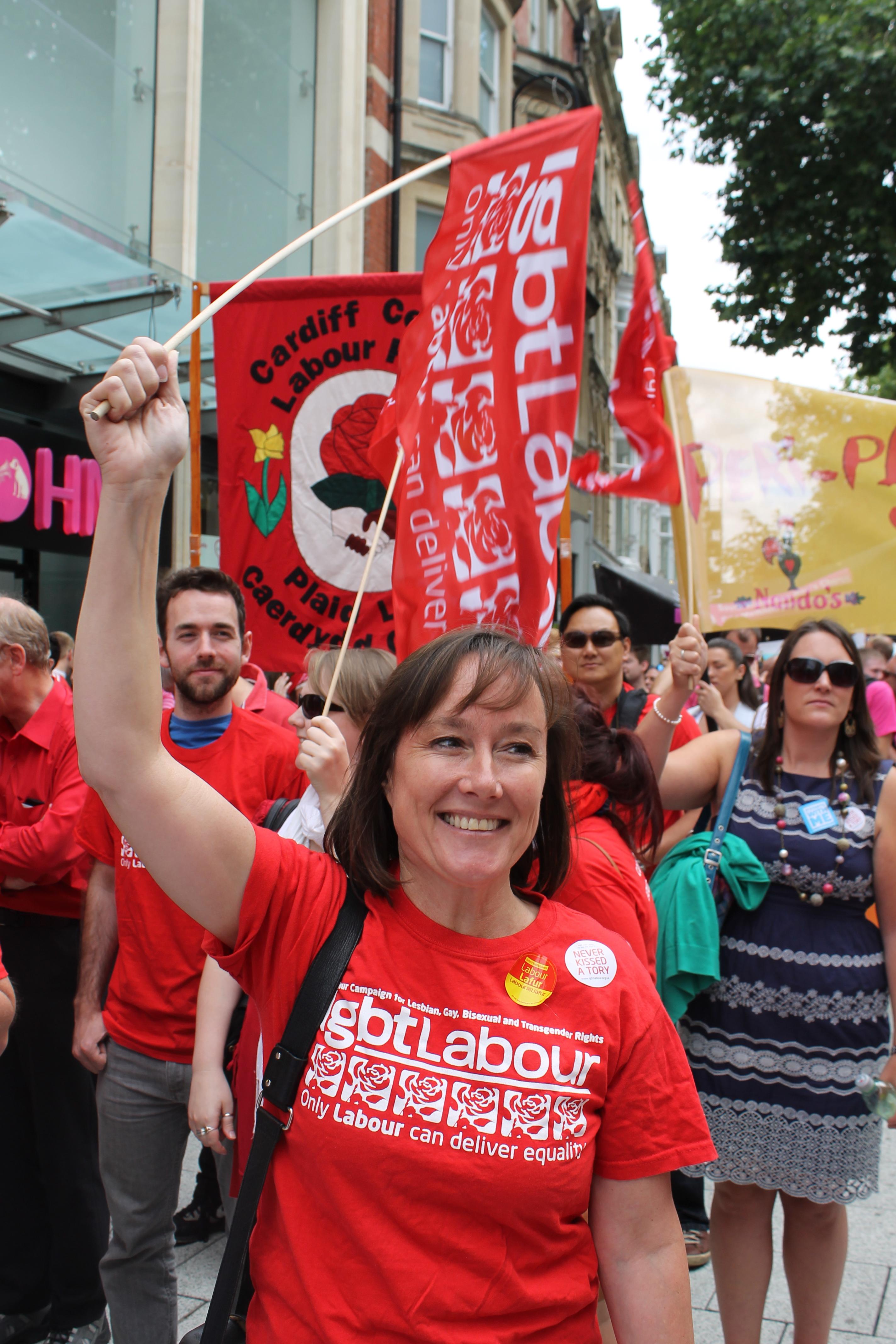 LGBT Labour at Pride Cymru