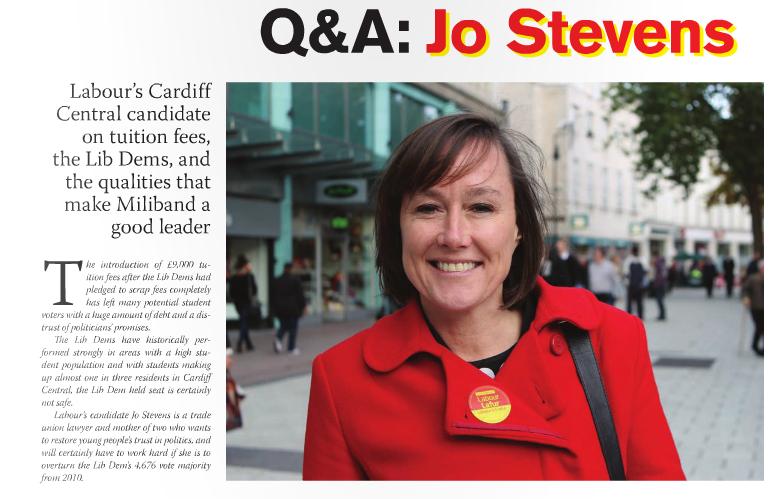 Jo Stevens interview
