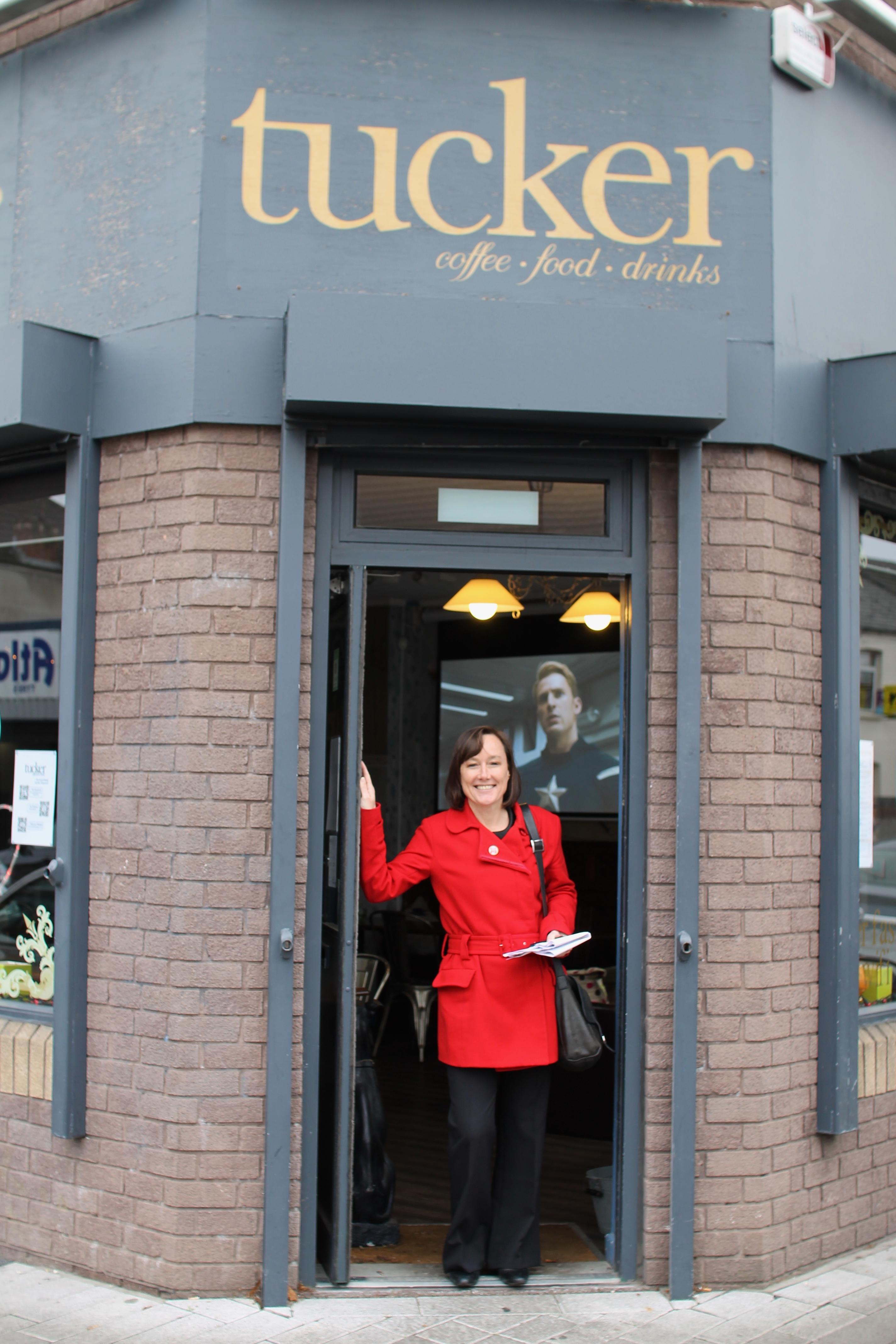 Jo at Tucker Coffee