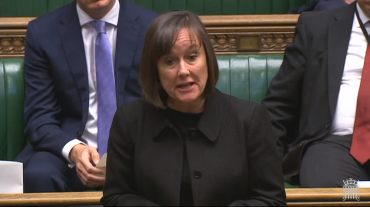 Jo Stevens speaking in the House of Commons