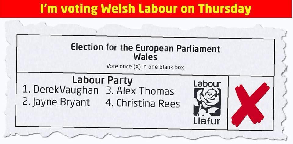 vote Welsh Labour