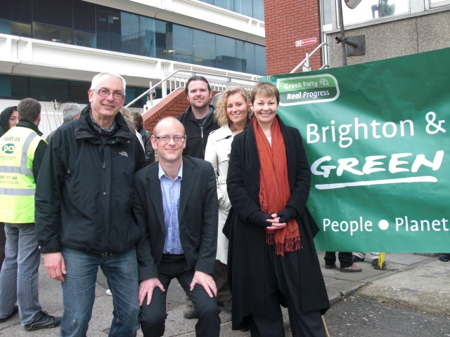 Caroline Lucas and Green Party