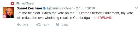 Daniel Zeichner tweet