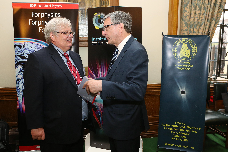 1543_Jim_Fitzpatrick_MP_talking_with_Prof_Dominic_Tildesley_(President__Royal_Society_of_Chemistry).jpg
