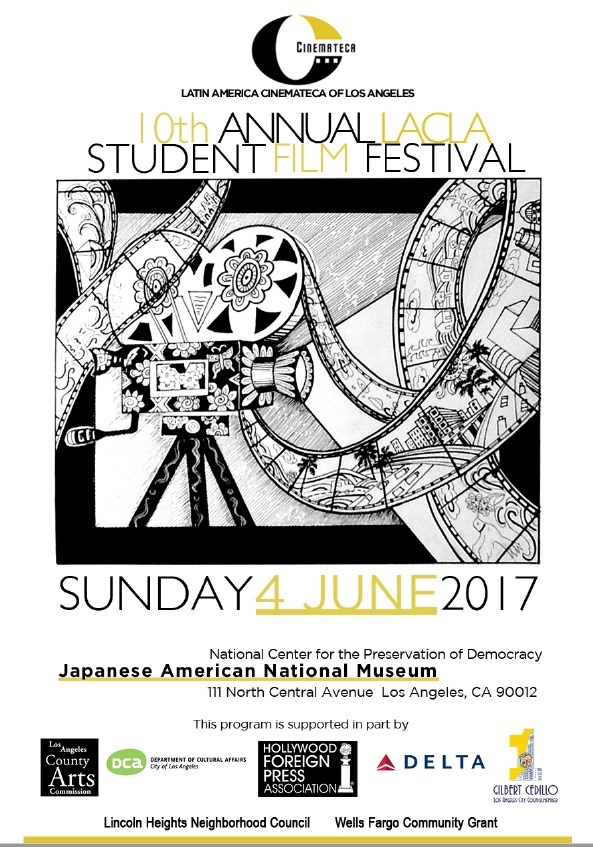 Student Film Festival Last June 2017 10th Annuan SFF Full Poster