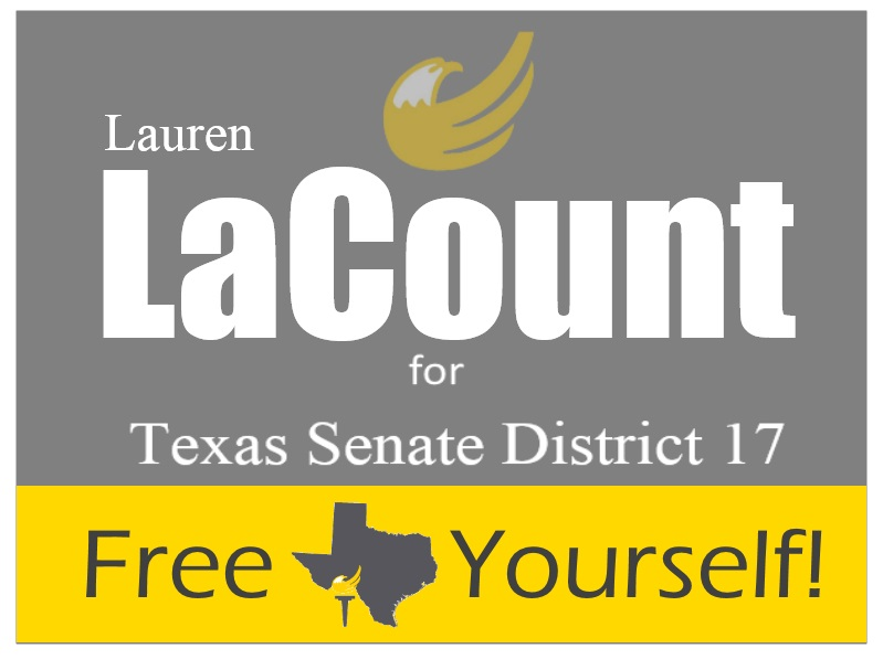 Lauren LaCount for Texas Senate District 17
