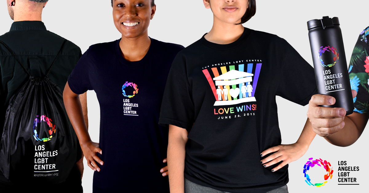 Los Angeles LGBT Center Swag